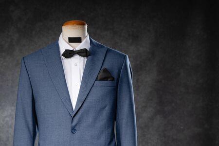 Men's suit on a mannequin Reklamní fotografie