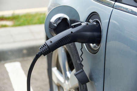 electric charging of the machine