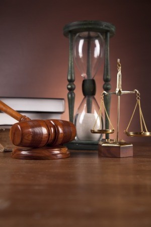 Law and justice concept, gavel Stock Photo - 16114459