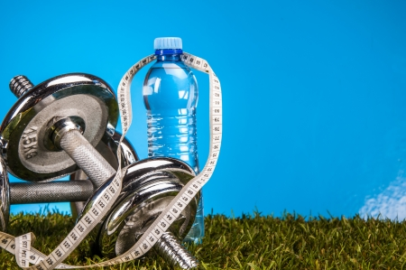 Health and fitness stuff Stockfoto