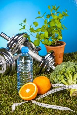 Gesundheit und Fitness Thema