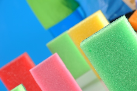 Colorful cleaning theme photo