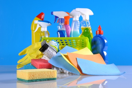 Washing concept on light background photo