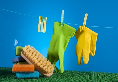 Washing, cleaning concept photo