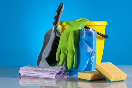Cleaning kit Stockfoto