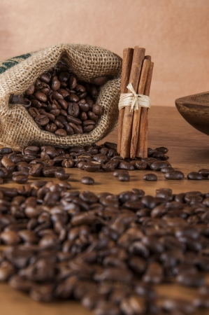 Country theme with coffee Stock Photo