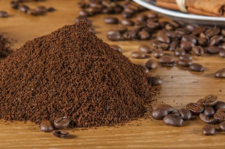 Coffee stuff, rural climate photo
