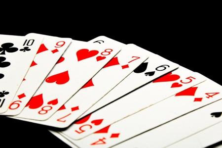 Elegant theme of gambling Stock Photo
