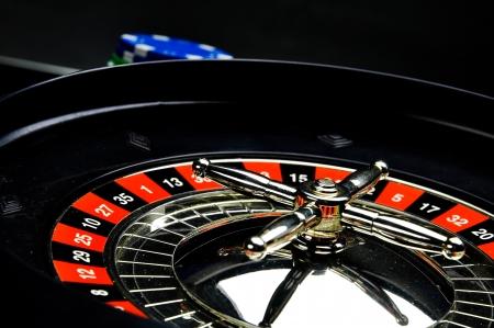 Dark composition of casino, gambling