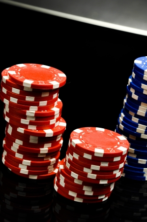 Elegant casino theme with ambient light
