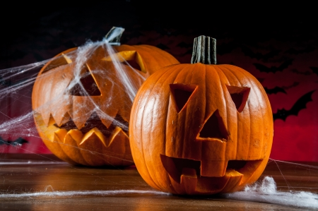 ambient: Halloween pumpkins, ambient light