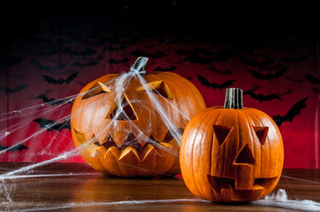ambient light: Halloween pumpkins, ambient light