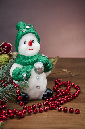 Christmas theme with ambient light photo