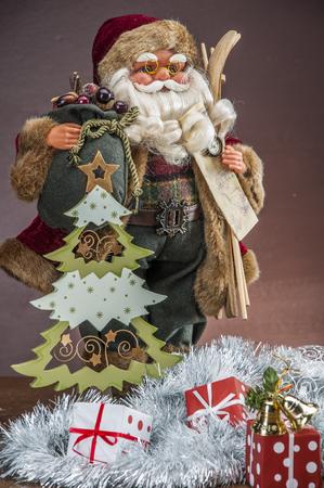 Composition of Christmas stuff photo