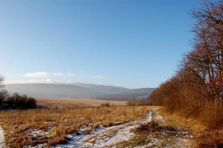 Mountain range, south of Poland Stock Photo