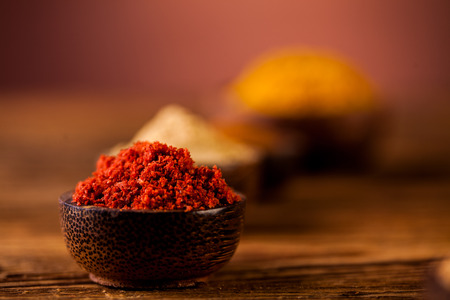 variability: Asian seasoning, oriental theme with spices