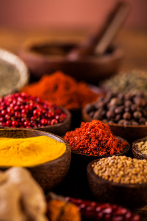 seasoning: Asian seasoning, spices theme