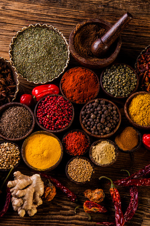 Indonesian, oriental theme with seasoning
