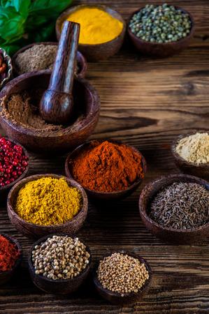 seasoning: Oriental theme with seasoning