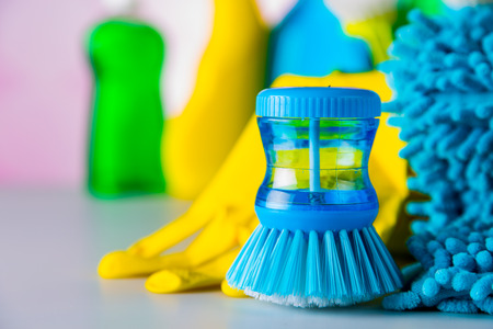 Vivid cleaning concept