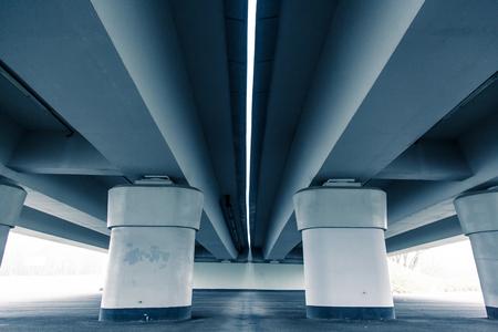 fueled: Modern architekture, Wroclaw stadium, cold tone concept Stock Photo