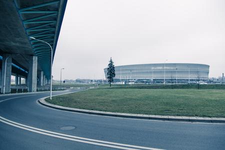 fueled: Stadium, modern architecture in Wroclaw Poland