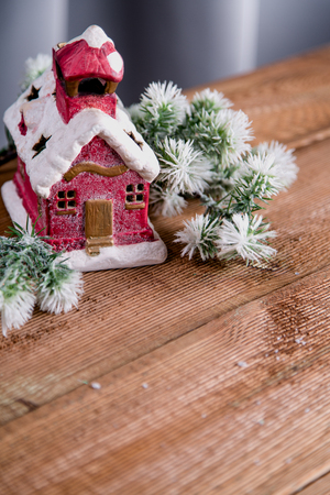 Christmas decorations, holiday home related concept