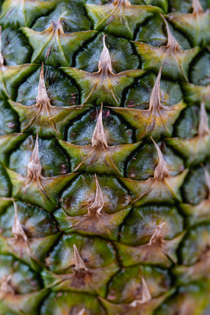 Close up image of pineapple