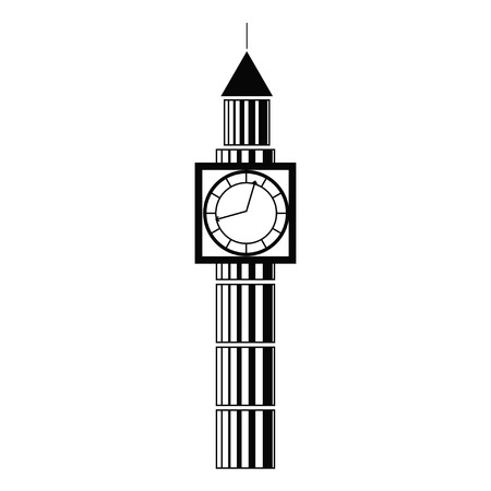houses of parliament   london: Vector illustration of the Big Ben, the symbol of London and United Kingdom