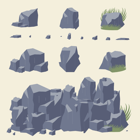 flagstone: Rock stone Illustration