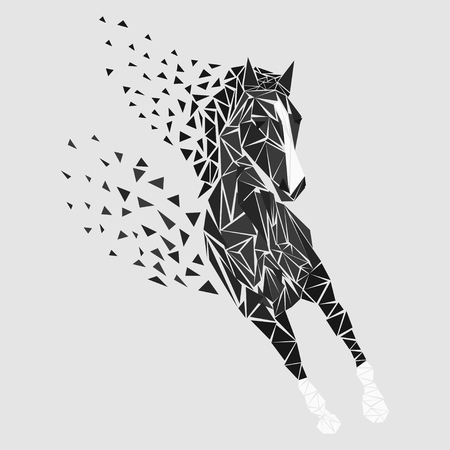 Horse particles icon