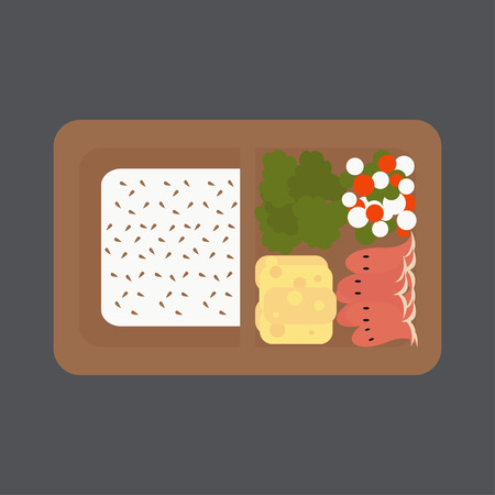 Japanese box lunch
