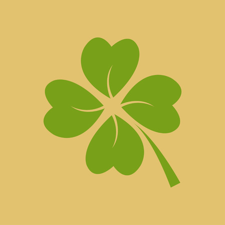 goodluck: Four green leaf