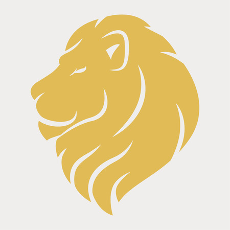 Lion head logo Logo