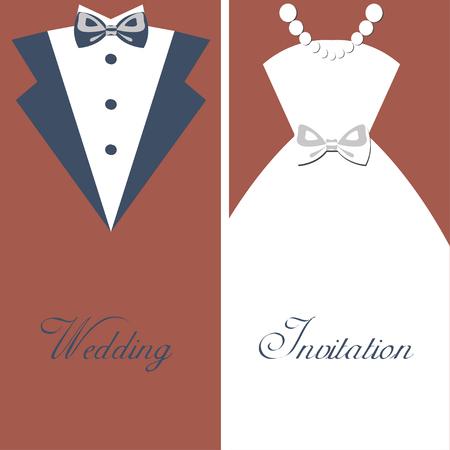 toolkit: Wedding invitation vintage design elements, designers toolkit card, elegant style vector illustration