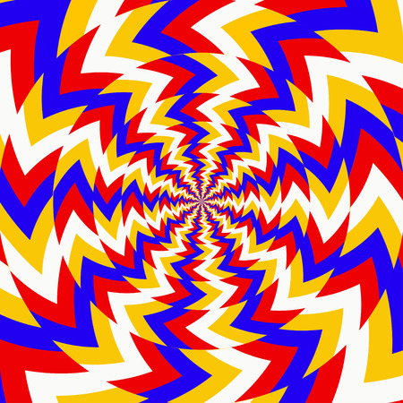 Psychedelic optical spin backgrounds - vector Stock Photo