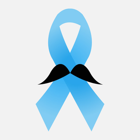 Prostate cancer blue ribbon