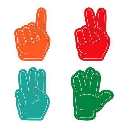 Fan hand, sports