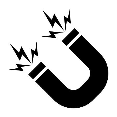 Magnet sign. Vector Stockfoto