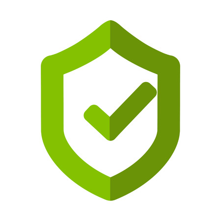 Lock icon. Under protection vector illustration sign.