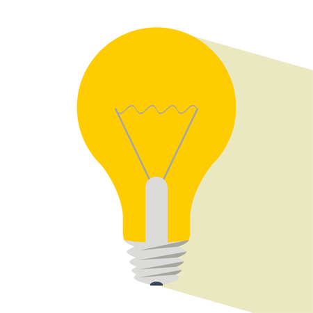 Light bulb with shadow