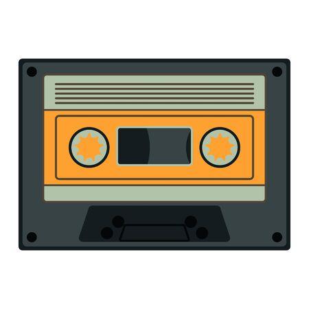Cassette tape icon illustration vector icon music 向量圖像