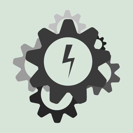Business along Gears icon.