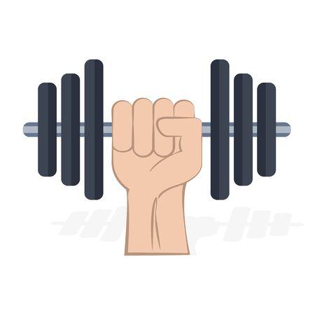 Fitness logo. Gym icon vector illustration design