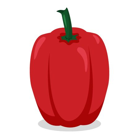 Bell pepper icon vector illustration design isolated