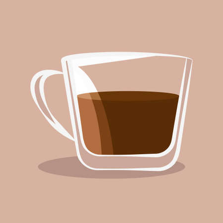 Coffee cup icon vector illustration design isolated
