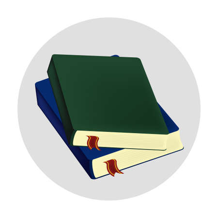 Books icon illustration vector design isolated object