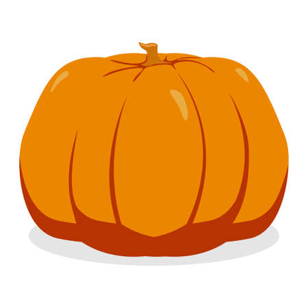 Pumpkin. Vegetable and organic food concept icon