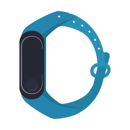 Wearable technology in watch icon vector illustration design
