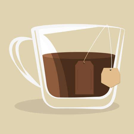 Cup of tea icon design vector illustration